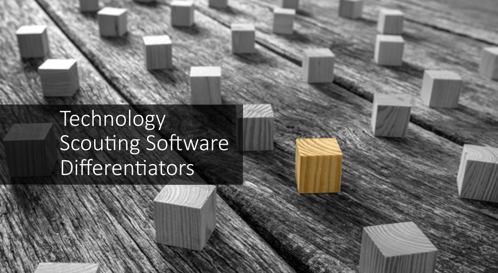 technology scouting software differentiators